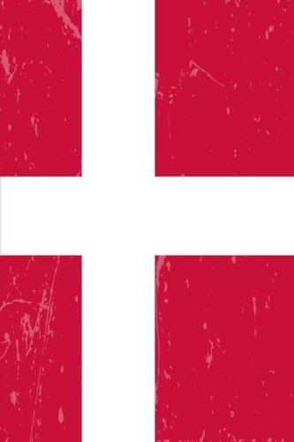 Denmark Flag Journal: Denmark Travel Diary, Danish Souvenir, Lined Journal to write in