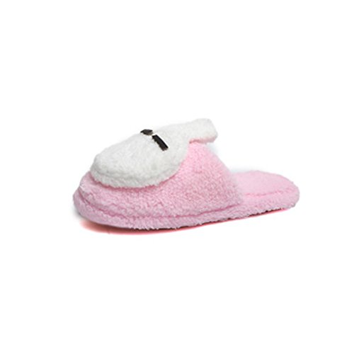 Rabbit Slippers Soft Winter slip Warm Cute Indoor Cartoon Anti Pink Womens Home Slippers Indoor Slippers GIY 5anqx1066