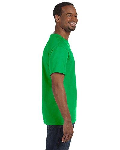 Green Manches electric Courtes Gildan Large À shirt Homme Pour T FzvTqxn