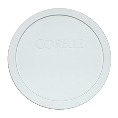 Corelle White 1.0 Quart - .95 Liters Plastic Cover 323-PC
