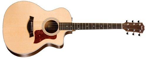 Taylor 214ce-L 200 Series Acoustic Guitar, Rosewood, Grand Auditorium, Cutaway, ES-T, Lefty (Grand Acoustic Guitar)