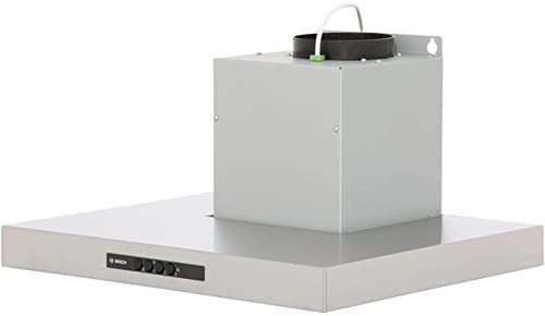 Bosch Serie 4 dwb06 W452b 60 cm chimenea campana – Acero inoxidable. Da claramente vista a tu cocina y crear una luz ambiental en la cocina: Amazon.es: Grandes electrodomésticos