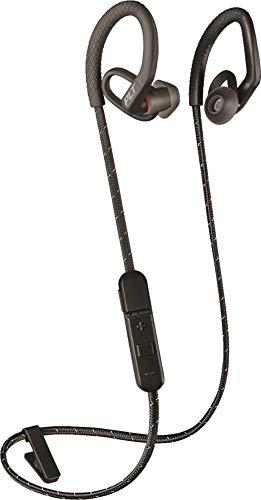 Plantronics Backbeat FIT 350 Wireless in-Ear Sweatproof Water-Resistant Sports Headphones, Black (Non-Retail Packaging)