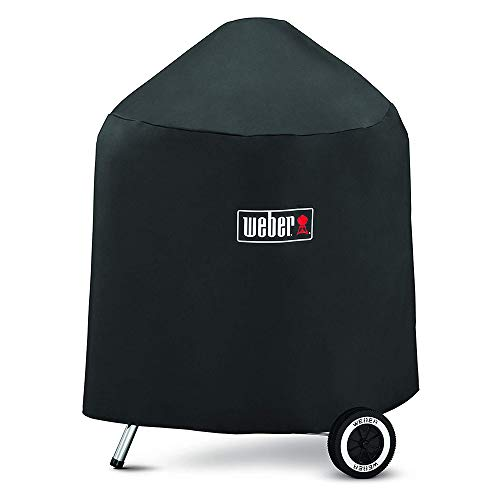 Weber7149 Grill Cover for Weber Charcoal Grills, 22.5-Inch with Storage Bag,27 X 25 X 35 inches