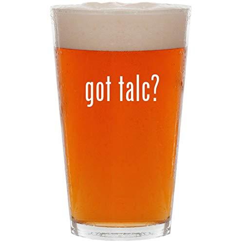 Boss Scented Shower Gel - got talc? - 16oz Pint Beer Glass