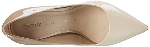 Bronx Bx 1245 Bcotex - Tacones Mujer Mehrfarbig (ivory- Taupe)