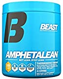 Beast Sports Nutrition, Amphetalean Thermogenic Energy Powder, Orange Cooler, 7.93 Ounce