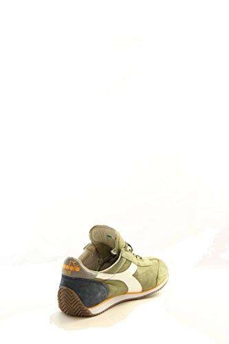 Diadora Heritage zapatos zapatillas de deporte hombres en ante nuevo equipe ston blanco/verde