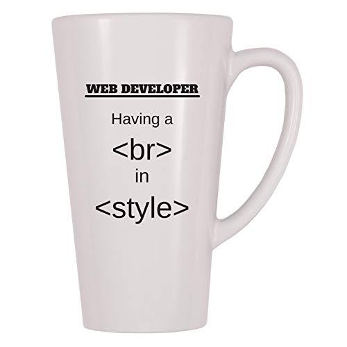 4 All Times Web Developer Having A Break In Style Coffee Mug (17 oz)