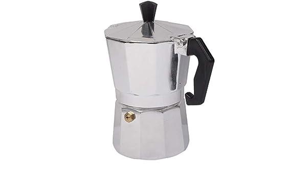 Leluckly1 Estuche de Cocina Multifuncional Cafetera de Aluminio Moka Cafetera de café Espresso (Plata): Amazon.es: Hogar