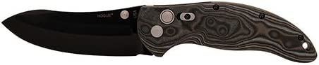 Hogue 34459 Knives EX-04 Folder 4 Upswept Blade, GMascus Blk Grey