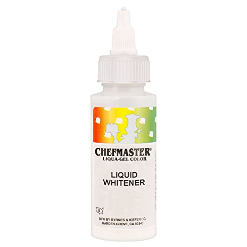 Chefmaster by US Cake Supply 2-Ounce Liquid Whitener - 3.5-Ounce Net