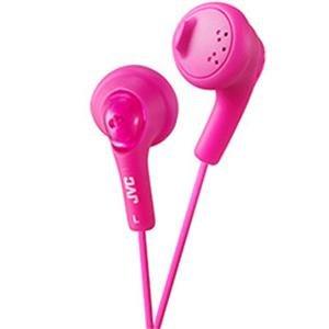 - JVC America Genuine Gumy Headphone Pink