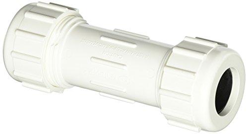 032888601048 - Mueller/B & K 160-104 PVC Plastic Compression Coupling carousel main 0