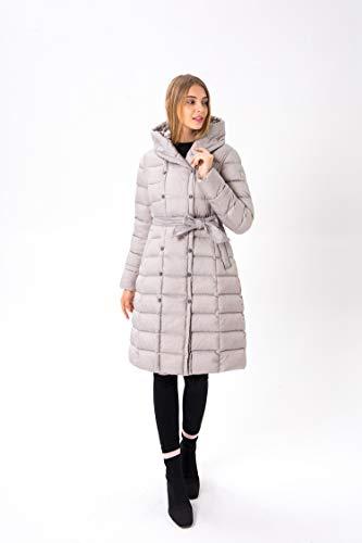 Cappuccio Dell' Invernale Donna Self Lungo Maniche Abbigliamento cultivation Con Cotone Da Coreana Nuovo Piumino Lunghe Versione Puro A Grey Gaigai Down gY1AqH6A