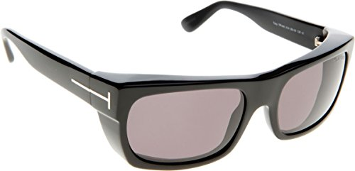 Tom Ford Toby FT0440 C56 01A (shiny black / smoke)