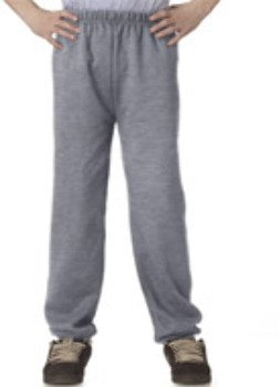Jerzees Youth 8 oz., 50/50 NuBlend® Sweatpants (973B)- FOREST GREEN,M ()