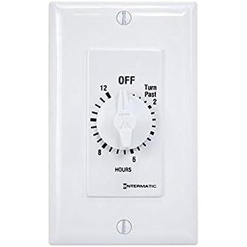 QA-Deluxe 4800(W) Whole House Fan 3396 CFM 2-Speed Wall ...  Whole House Fan Timer