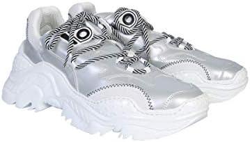 N°21 Luxury Fashion Herren 00119FWSU0900094W001 Silber Sneakers | Herbst Winter 19