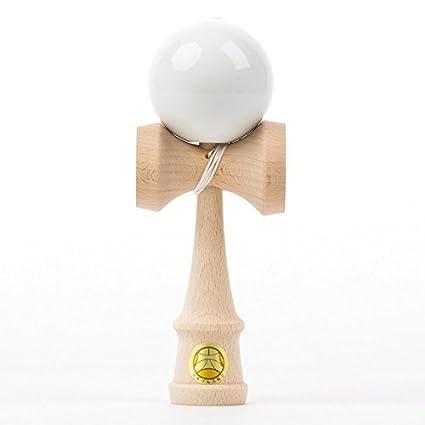 Amazoncom Ozora Kendama Premium Sticky White Toys Games