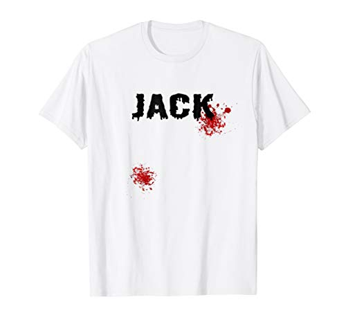 Jack and Jill Funny Halloween Couples Costume T-shirt ()