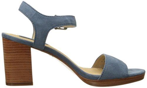 Frye Sandalias de Blake vestido de dos piezas de la mujer Blue-70721