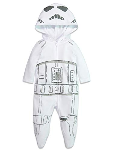 Star Wars Storm Trooper Baby Boys Costume Zip-Up Footies with Hood 12 Months]()