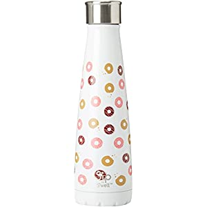 S'well 200115451 15 oz Cotton Candy Blue S'ip Insulated, Double-Walled Stainless Steel Water Bottle, 15oz 17