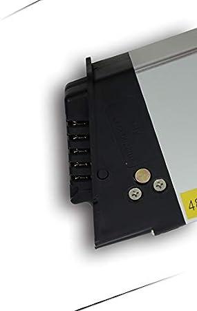 Shengmilo Batterie De V/élo /Électrique Batterie 48v 12.8ah Lithium Li-ION Rechargeable