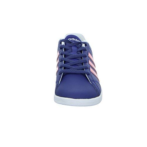 Adidas Vs Coneo Qt W, Scarpe da Ginnastica Donna, Blu (Tinuni/Rosray/Ftwbla), 40 EU