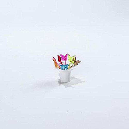 ZAK Designs Farfalle Picks Set di 7/arcobaleno 8/cm