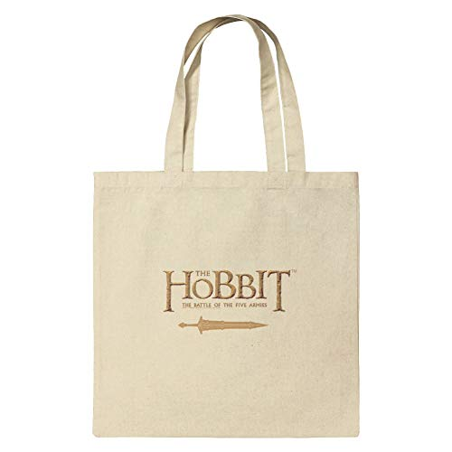 The Hobbit Battle of the Five Armies Logo Grocery Travel Reusable Tote Bag - Small (Hobbit Battle Of The Five Armies Length)