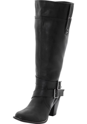 Sheego Weitschaftstiefel XL Leder Stiefel Gr.37 Damenstiefel