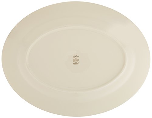 Lenox Winter Greetings 16'' Oval Platter,Ivory, Gold by Lenox (Image #4)