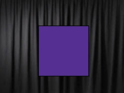 8 Ft. High x 5 Ft. Wide Premier Drape Panel (For Pipe and Drape Displays and Backdrops) - Purple