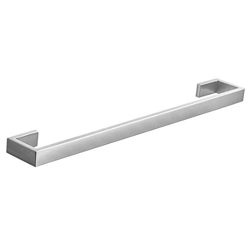 Fapully Stainless Steel Bathroom Accessories Hardware Wall Mounted Towel Bar Rack,Brushed Nickel Finished Brushed Nickel Towel Racks