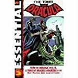 Front cover for the book Essential Tomb of Dracula, Volume 3 by Marv Wolfman