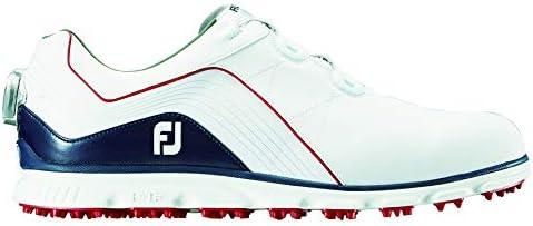 ゴルフシューズ ProSL Boa メンズ ホワイト/ネイビー/レッド(18) 24.5 cm 3E 53290J