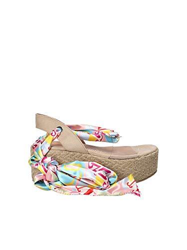 Pink PE18TE3073 Fornarina Wedge Women Sandals FIddrq