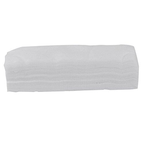 Bandes de 100 Pcs dame femme White Hair Removal papier cire dépilatoire Epilateur outil