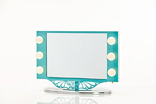 Starlet Lighted Vanity Mirror Reviews : Vanity Girl Hollywood Starlet Lighted Vanity Mirror (Gloss Black, 34