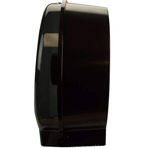 Janico 2009 Jumbo Roll Toilet Paper Dispenser - 9 Inch Single Roll, Wall Mount, Translucent Black by Janico (Image #2)