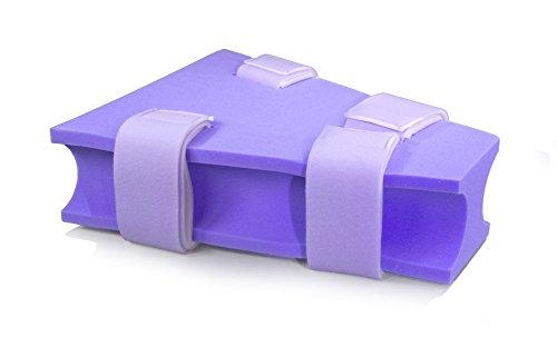 (MediChoice Foam Abduction Pillow, Contoured, Disposable, Single Use, Medium, Purple, 1314P40409 (Each of 1))
