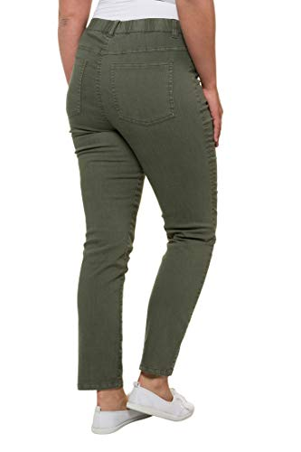 Confortable Jegging Mat Grandes Femme Slim Olive Tailles Popken Pantalon Ulla 686492 OwqZ4f0Fxw