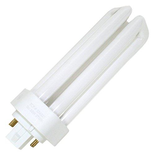 (Case of 6) TCP 32432T 32W PL 3-TUBE 4-PIN Triple Tube 4 Pin Base Compact Fluorescent Light Bulb
