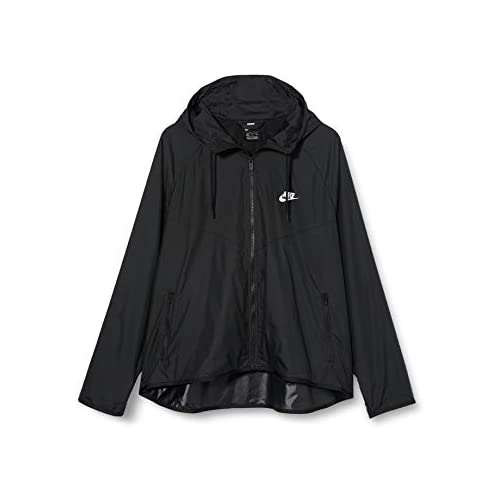 chollos oferta descuentos barato NIKE W Nsw Wr Jkt Sport Jacket Mujer black black white XS