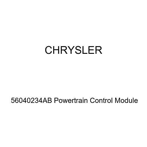 (Genuine Chrysler 56040234AB Powertrain Control Module)