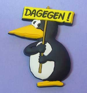 Dagegen Pinguin