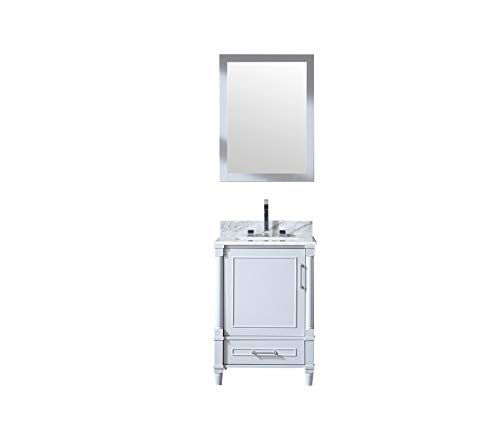 Willow Collections 24 in. W x 18 in. D Vanity in Dove - Wide Gray 18in Dove Bathroom Mirrors