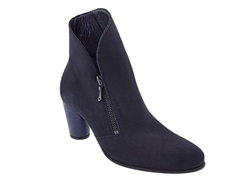 Arche Botas de Piel Para Mujer azul oscuro